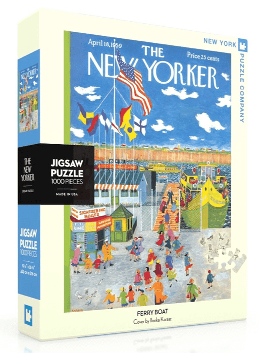 Puzzle (1000pc) New Yorker : Ferry Boat