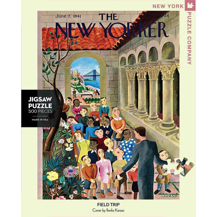Puzzle (500pc) New Yorker : Field Trip