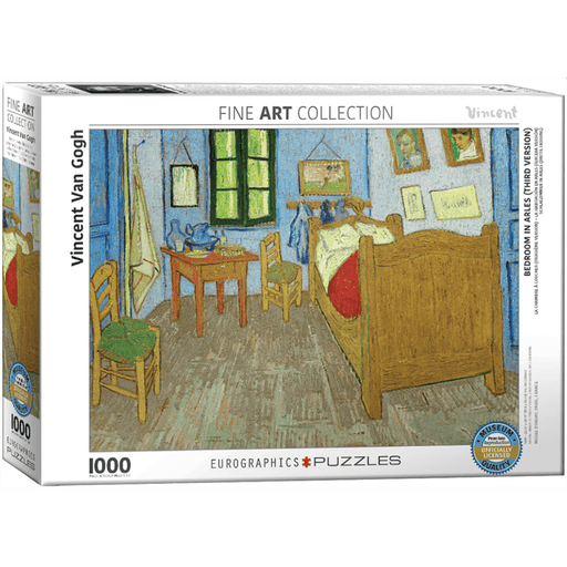 Puzzle (1000pc) Fine Art : Bedroom in Arles