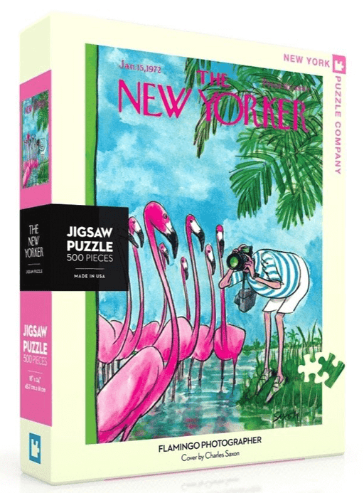 Puzzle (500pc) New Yorker : Flamingo Photographer