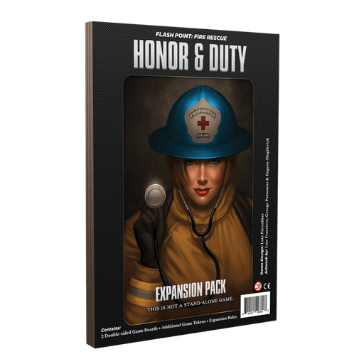 Flash Point Fire Rescue Expansion : Honor & Duty
