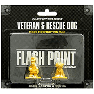 Flash Point Fire Rescue Expansion : Veteran & Rescue Dog