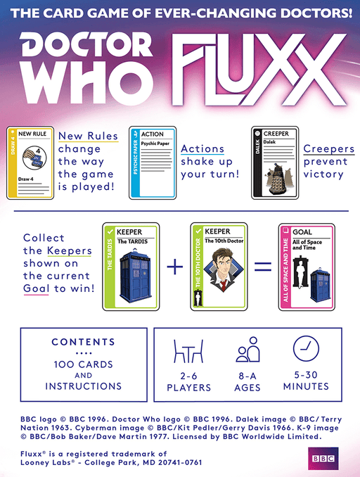 Fluxx Doctor Who