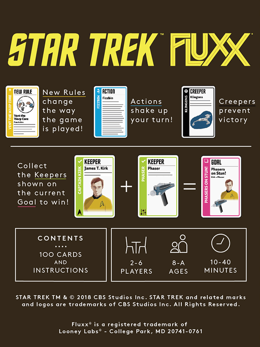 Fluxx Star Trek