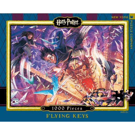 Puzzle (1000pc) Harry Potter : Flying Keys