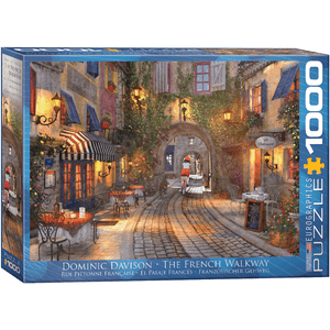 Puzzle (1000pc) Artist Series : French Walkway