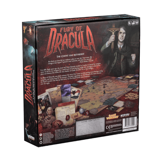 Fury of Dracula (4th ed)