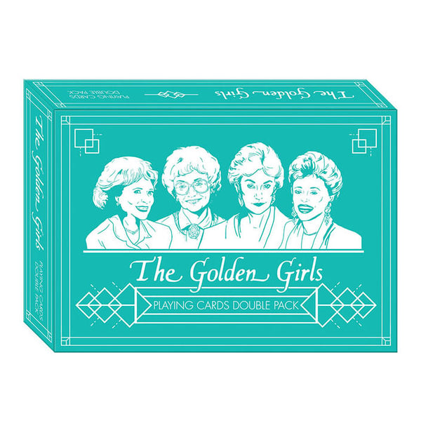 Playing Cards Golden Girls Double Pack