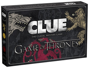 Clue Game of Thrones