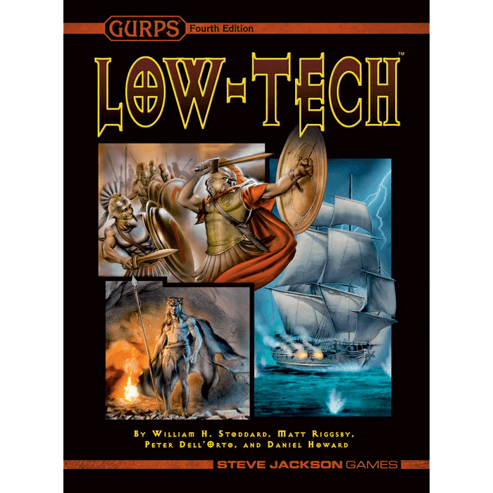 GURPS (4th ed) Low Tech