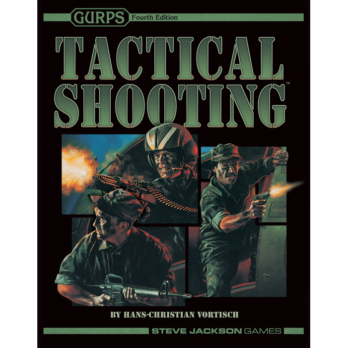GURPS (4th ed) Tactical Shooting