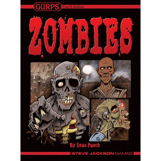 GURPS (4th ed) Zombies