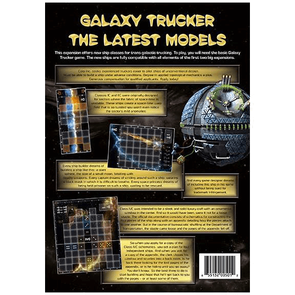 Galaxy Trucker Expansion : The Latest Models