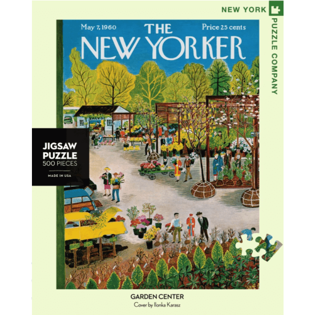 Puzzle (500pc) New Yorker : Garden Center