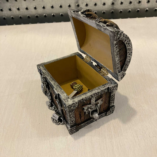Box - Treasure Chest Resin Gargoyle