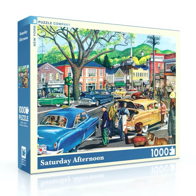 Puzzle (1000pc) General Motors : Saturday Afternoon