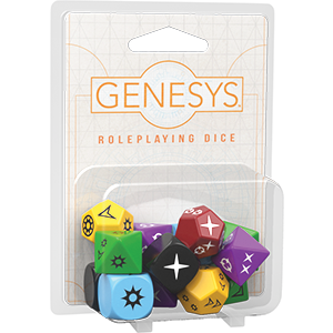 Genesys RPG Dice