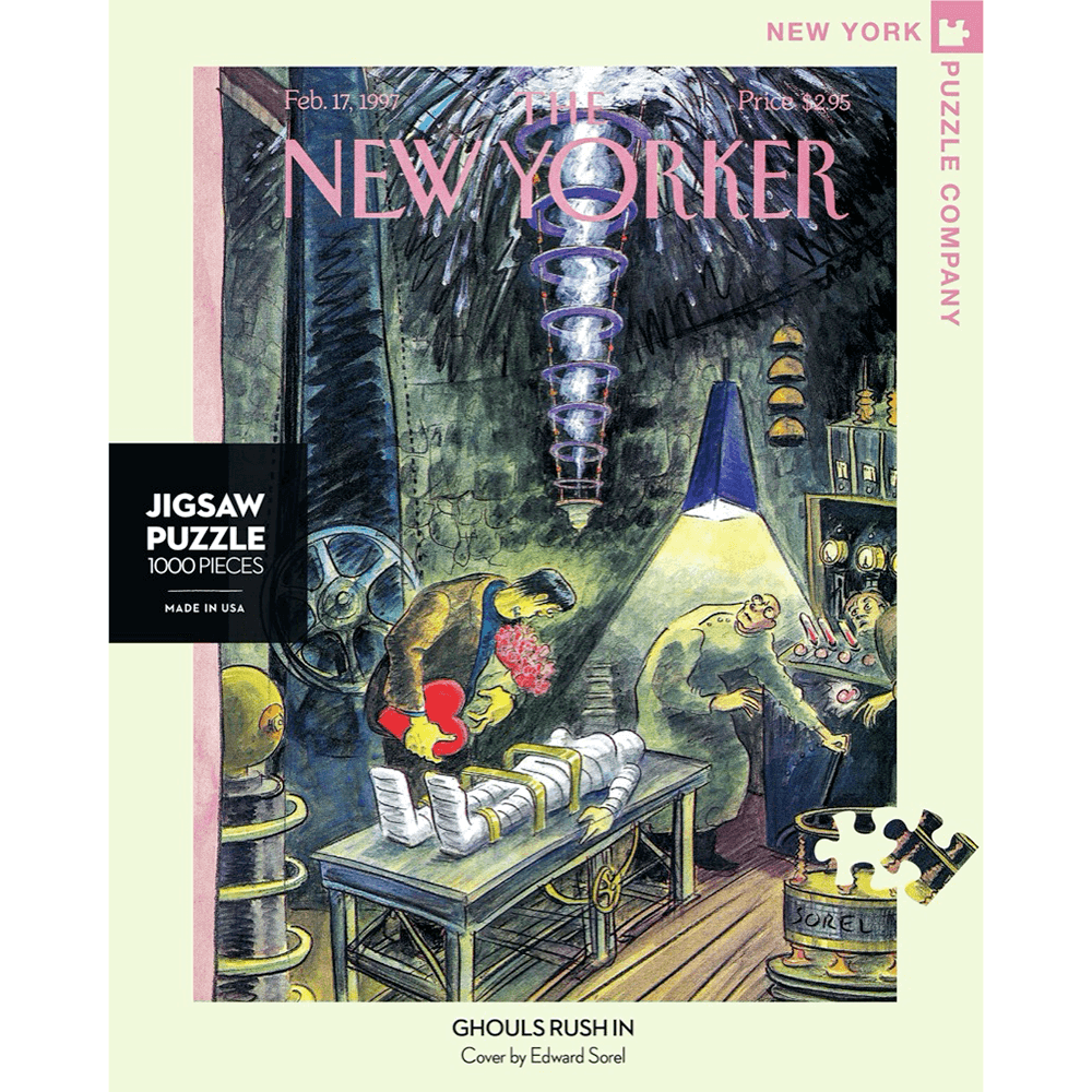 Puzzle (1000pc) New Yorker : Ghouls Rush In