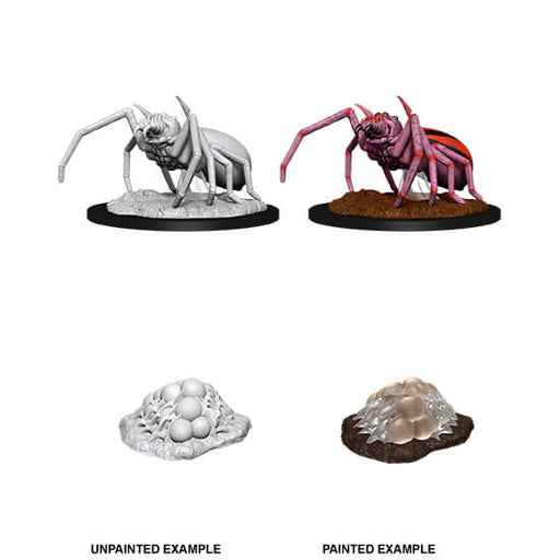 Mini - D&D Nolzur's Marvelous : Giant Spider & Egg Clutch