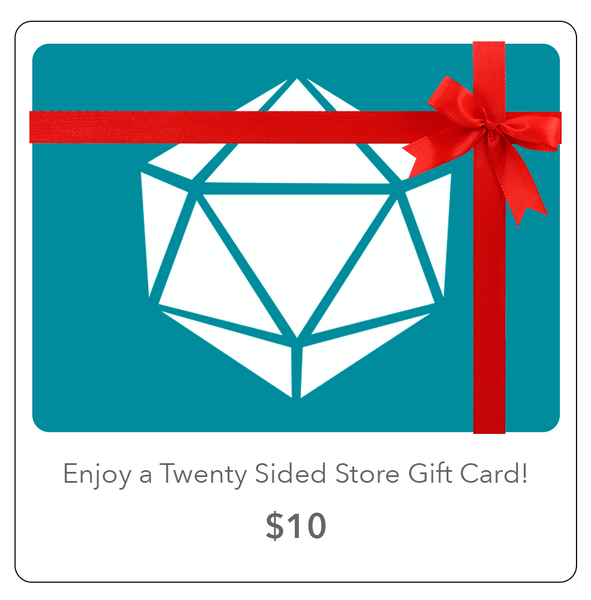 Twenty Sided Gift Card