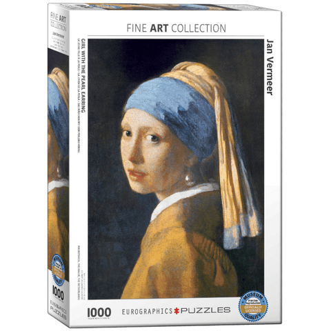 Puzzle (1000pc) Fine Art : Girl with the Pearl Earring