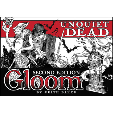Gloom (2nd ed) Expansion : Unquiet Dead