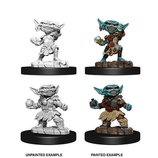 Mini - Pathfinder Deep Cuts : Goblin Alchemist (Female)