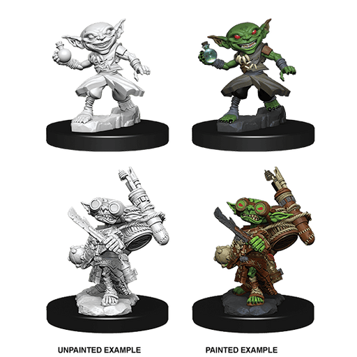 Mini - Pathfinder Deep Cuts : Goblin Alchemist (Male)