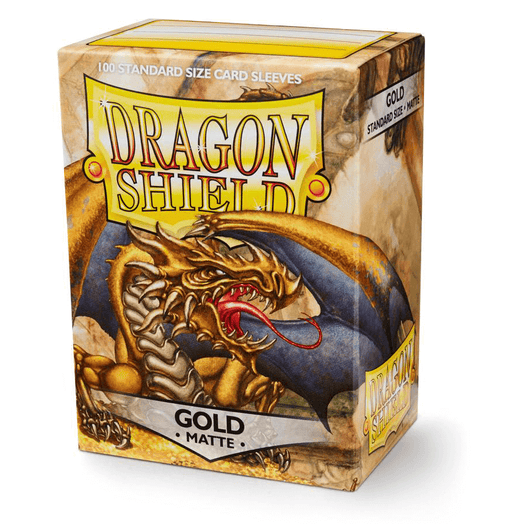 Sleeves Dragon Shield (100ct) Matte : Gold