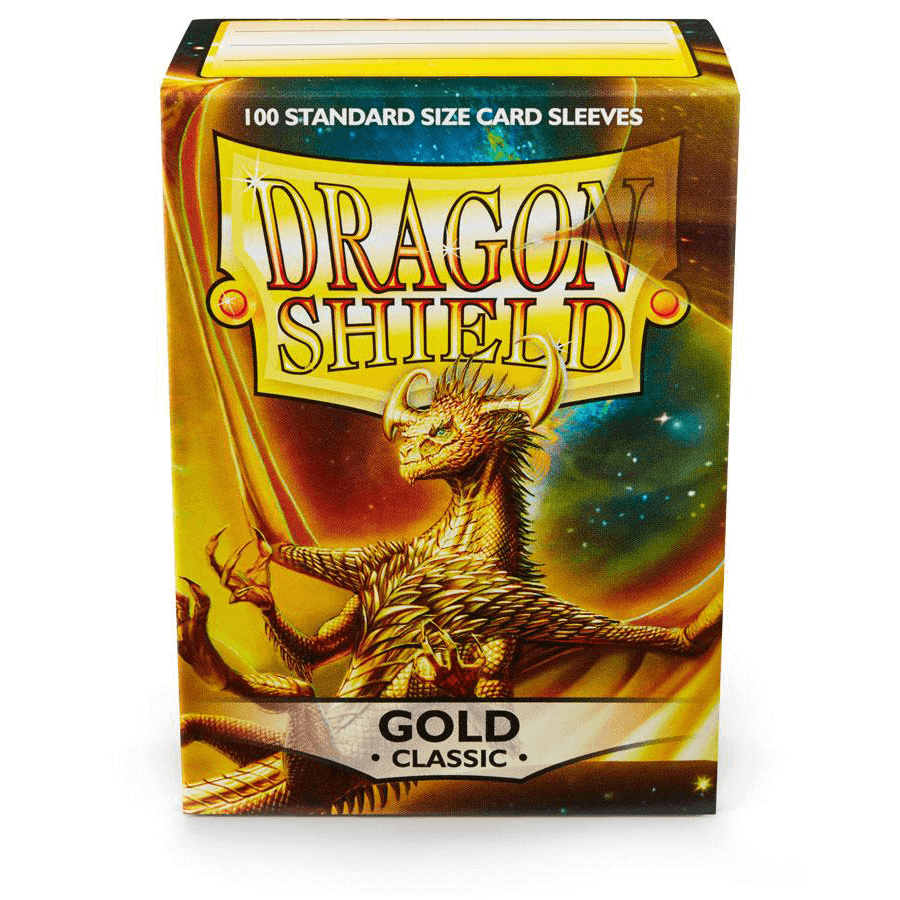 Sleeves Dragon Shield (100ct) Gold