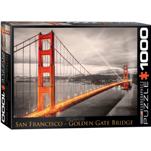 Puzzle (1000pc) City : Golden Gate Bridge