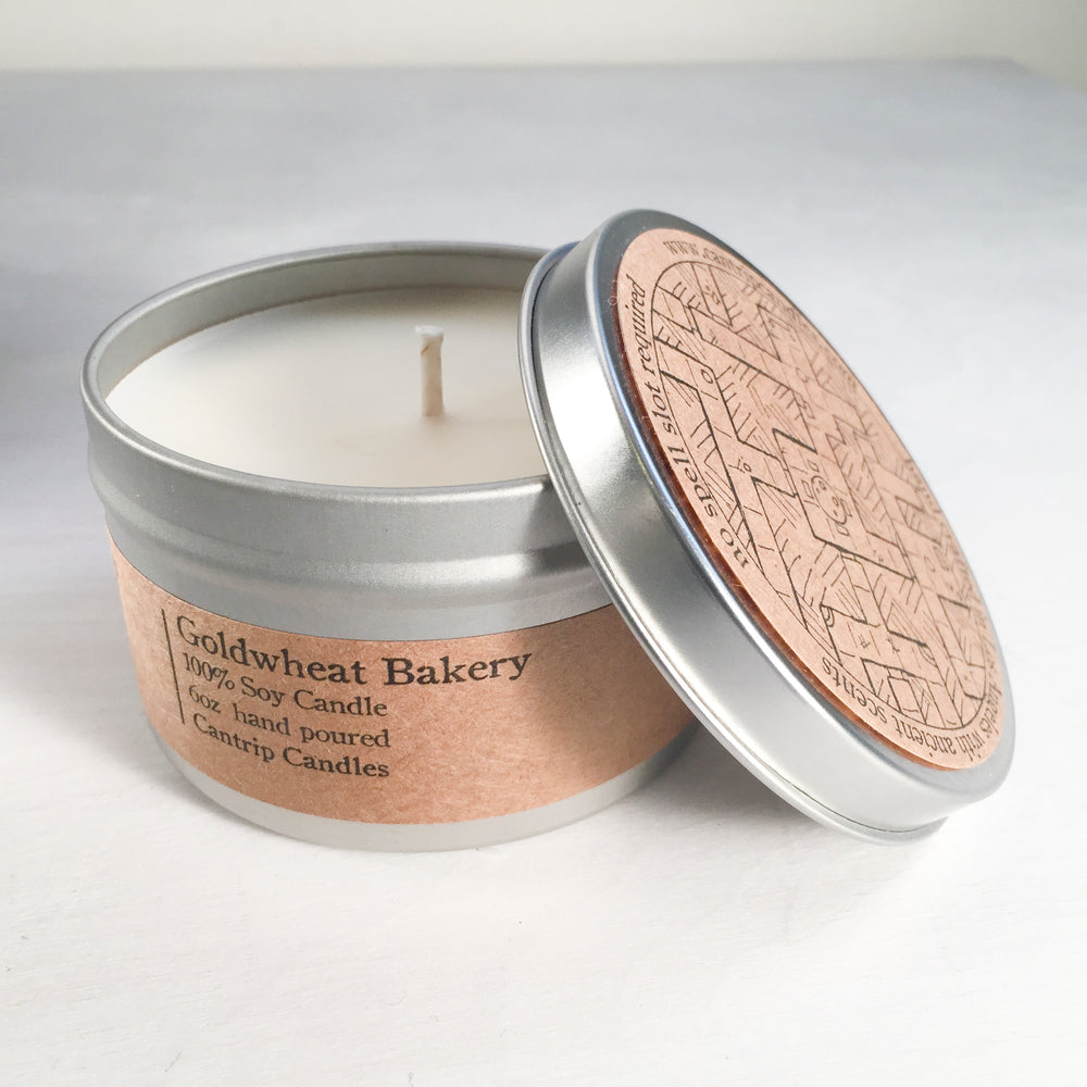 Cantrip Candles (6oz) Goldwheat Bakery