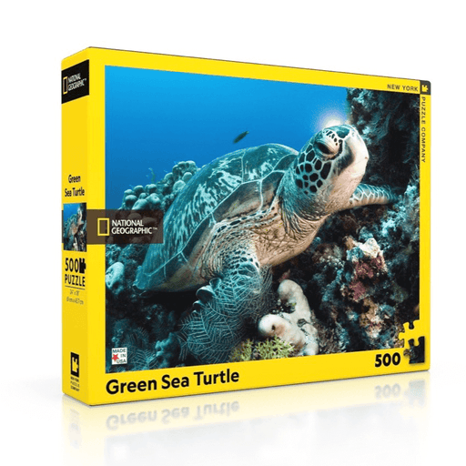 Puzzle (500pc) National Geographic : Sea Turtles
