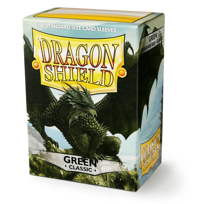 Sleeves Dragon Shield (100ct) Green