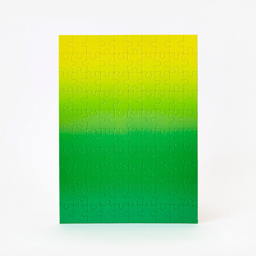Gradient Puzzle (100pc) Green / Yellow