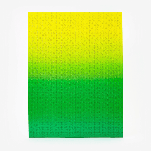 Gradient Puzzle (500pc) Green / Yellow