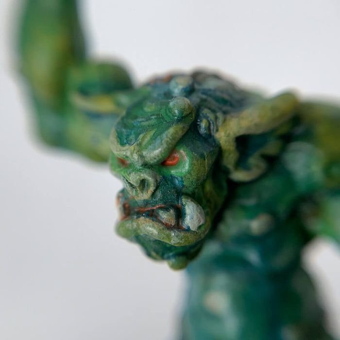 Pro Painted Miniature by Lauren Bilanko | Cave troll
