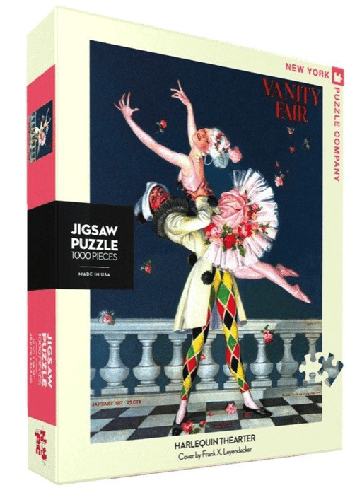 Puzzle (1000pc) Vanity Fair : Harlequin Theater