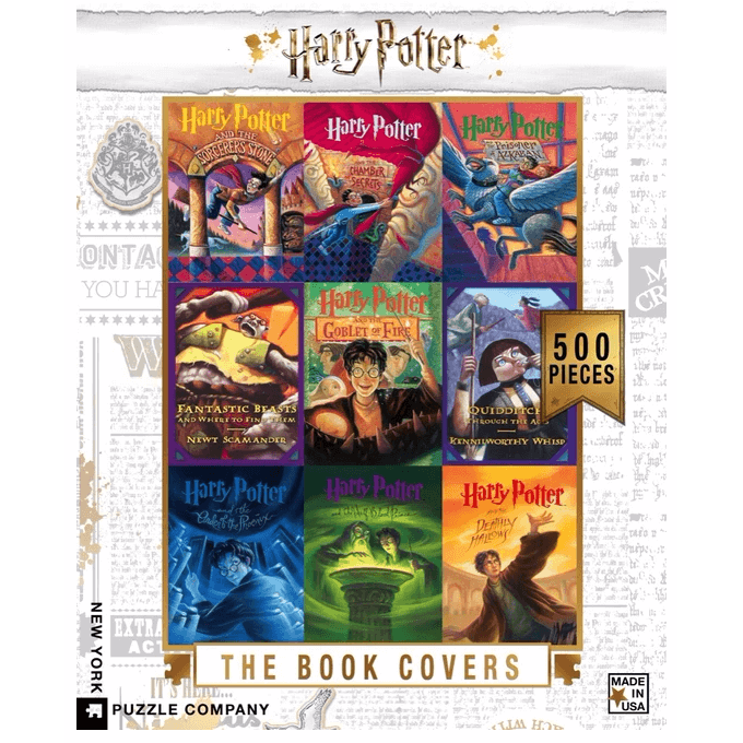 Puzzle (500pc) Harry Potter : Book Covers