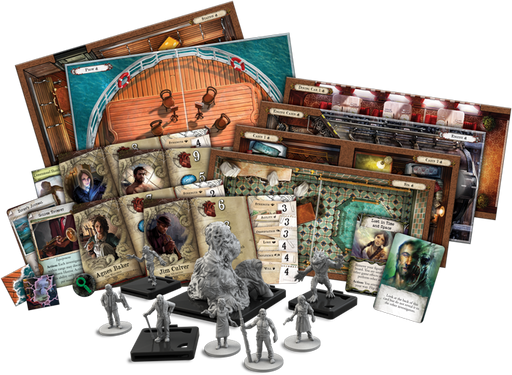 Mansions of Madness (2nd ed) Expansion : Horrific Journeys