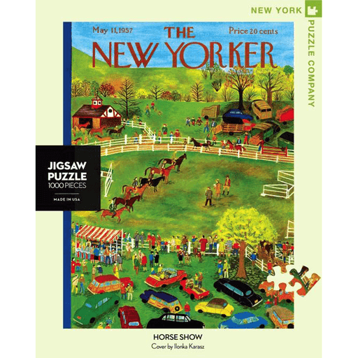 Puzzle (1000pc) New Yorker : Horse Show