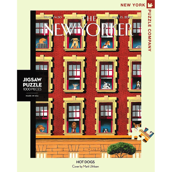 Puzzle (1000pc) New Yorker : Hot Dogs