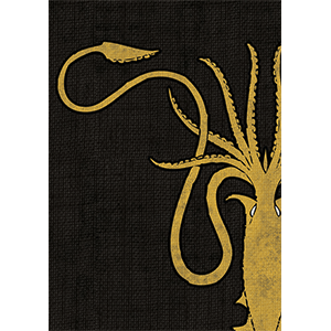 Sleeves Game of Thrones (50ct) House Greyjoy