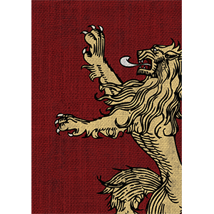 Sleeves Game of Thrones (50ct) House Lannister