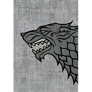 Sleeves Game of Thrones (50ct) House Stark