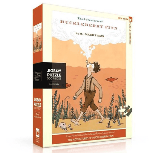 Puzzle (500pc) Penguin Random House : Huckleberry Finn
