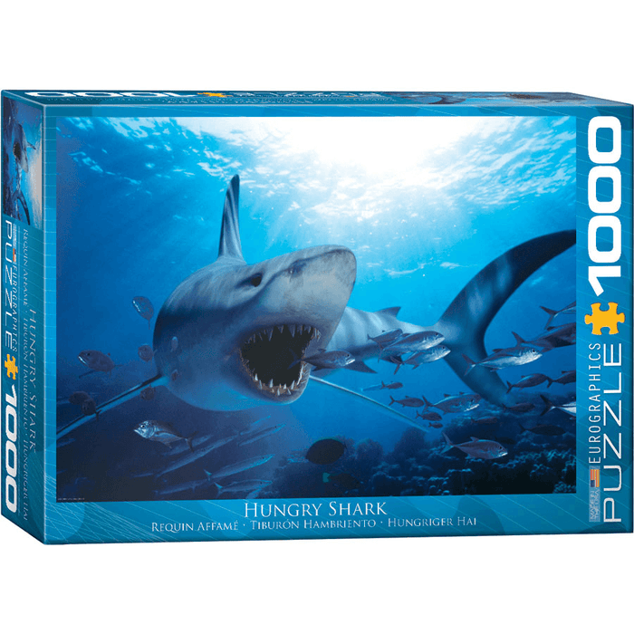 Puzzle (1000pc) Hungry Shark