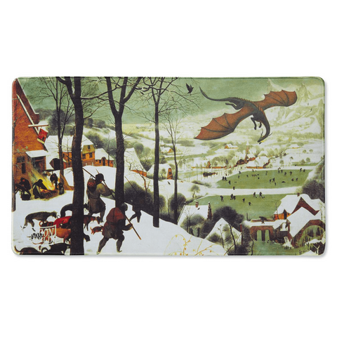 Playmat Dragon Shield : Hunters in the Snow