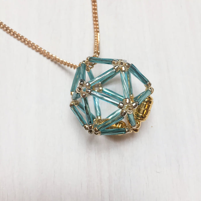 Necklace d20 Flower : Sky Princess