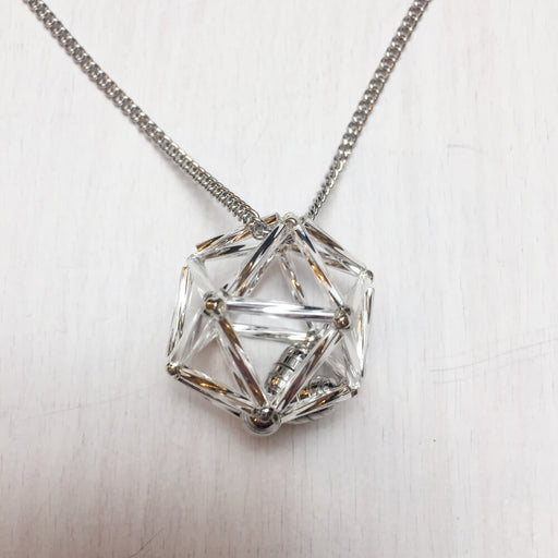 Necklace d20 : Silver